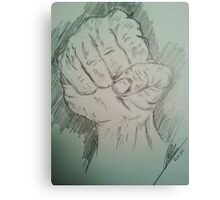 Clenched Fist Canvas Print