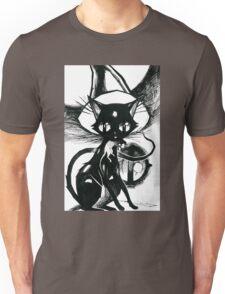 Inktober 6 - Witch's Cat Unisex T-Shirt