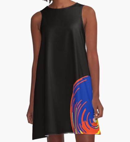 Big data doughnut A-Line Dress