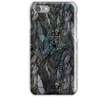 Dark Green Feathers iPhone Case/Skin