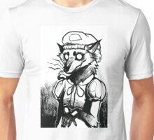 Inktober 7 - Big Bad Wolf Unisex T-Shirt