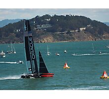 """USA Wins the America's Cup"" Photographic Print"