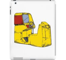 Arcade sit in driving game iPad Case/Skin