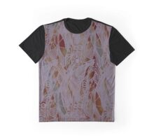 Mauve Feathers Graphic T-Shirt