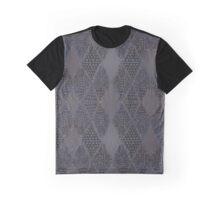 Navy Mosaics Graphic T-Shirt