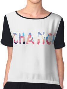 Chance Colorful Chiffon Top