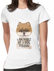 POMERANIAN LOVE Womens Fitted T-Shirt