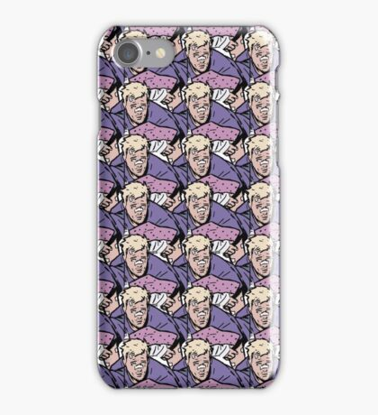 Hawkeye Clint Barton pattern  iPhone Case/Skin