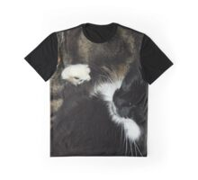 Cats sleeping Graphic T-Shirt