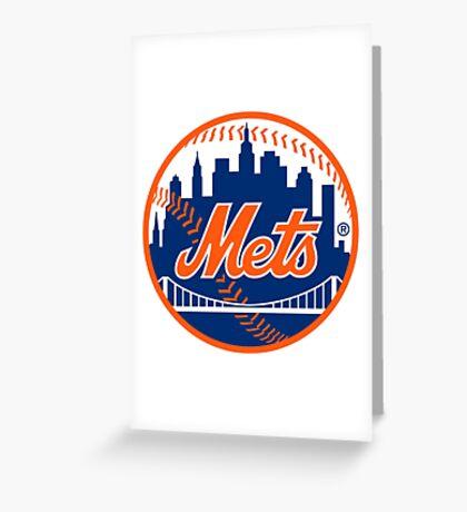 Mets Logo!  Greeting Card