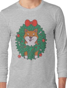 Hanging Through The Festive Season Long Sleeve T-Shirt