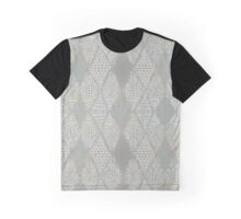 Grey Tribal Mosaic Graphic T-Shirt