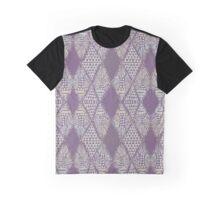 Light Purple Tribal Mosaic Graphic T-Shirt
