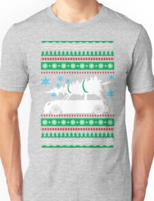 Christmas Car Ugly Sweater Mini Unisex T-Shirt