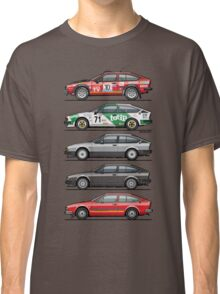 Stack of Alfa Romeo Alfetta GT and GTV6 Classic T-Shirt