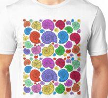 Rainbow Ammonites Unisex T-Shirt