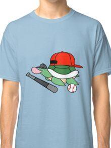 Baseball Turtle Classic T-Shirt