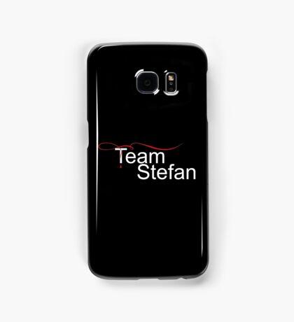 Team Stefan white Stefan salvatore Samsung Galaxy Case/Skin