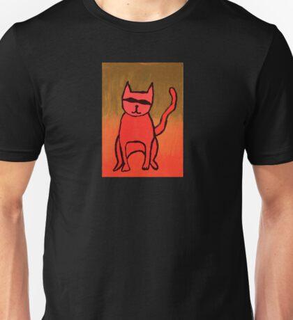 Bandit Cat Unisex T-Shirt