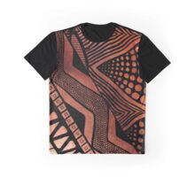 Tribal Fire Graphic T-Shirt