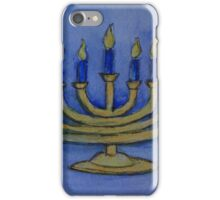 Happy Hanukkah WC161122c iPhone Case/Skin