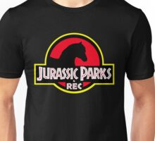 Jurassic Parks and Rec Clean Unisex T-Shirt