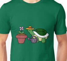 Gardener Turtle Unisex T-Shirt