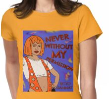 Me fifth element - supreme being. Me protect you. Womens Fitted T-Shirt