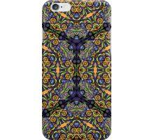 Psychedelic jungle kaleidoscope ornament 10 iPhone Case/Skin