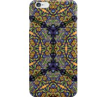 Psychedelic jungle kaleidoscope ornament 10 iPhone Case/Skin