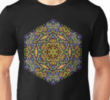 Psychedelic jungle kaleidoscope ornament 10 Unisex T-Shirt