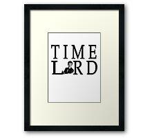 Time Lord David Tennant Framed Print