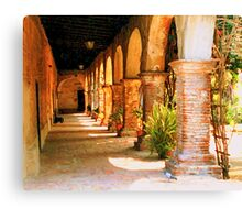 Mission San Juan Capistrano California 2 Canvas Print
