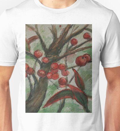 Berries on a Bush WC161122h Unisex T-Shirt