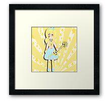 Chibi Sabrina Smile  Framed Print