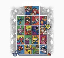 Warioware Mega Mix One Piece - Short Sleeve