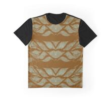 Earthy Leafy Lines Graphic T-Shirt