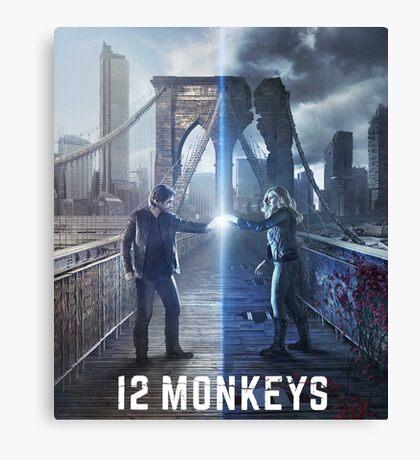 12 Monkeys TV Series Canvas Print