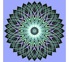 Fractal Mandala Photographic Print