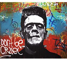 Frankenstein Rebel Photographic Print