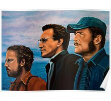 Richard Dreyfuss, Roy Scheider and Robert Shaw in Jaws Poster