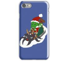 Merry Cthulhmas iPhone Case/Skin