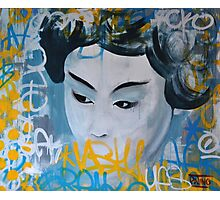 Urban Geisha Photographic Print