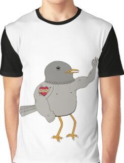 That's one ripped bird! Graphic T-Shirt