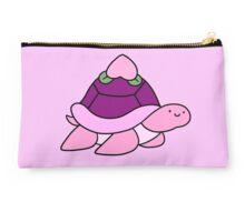 Peach Turtle Studio Pouch