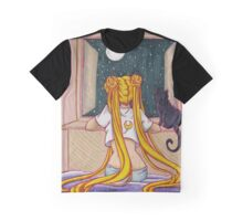 Longing Usagi Graphic T-Shirt