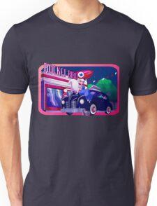 Rocket Bird Station (NIGHT) Unisex T-Shirt