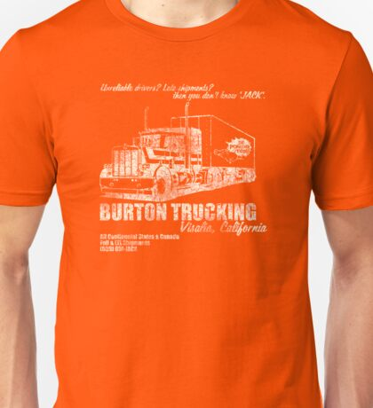 Burton Trucking Unisex T-Shirt