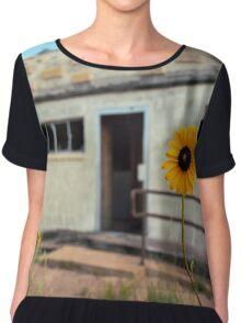Glenrio Sunflower Chiffon Top