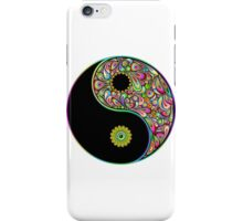 Yin Yang Symbol Psychedelic Art Design iPhone Case/Skin